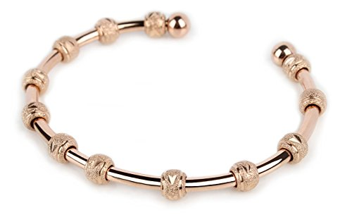 Count Me Healthy Wellness Journal Bracelet - Rose Gold