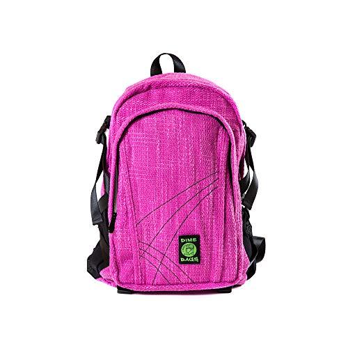 Dime Bags Classic Hemp Backpack (Magenta)