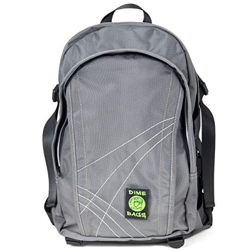 Dime Bags Water Resistant Hemp Backpack (Graphite)