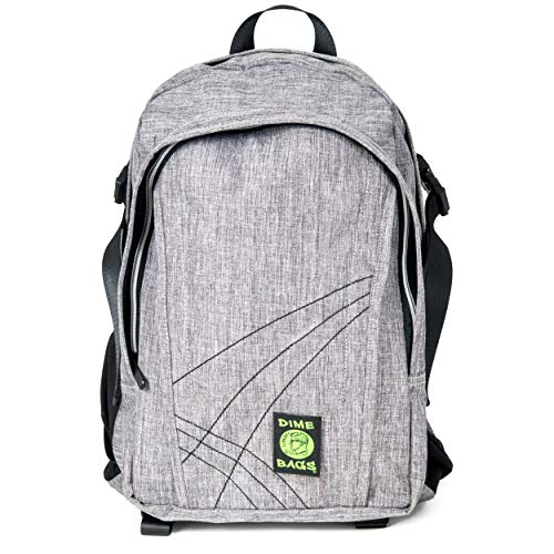 Dime Bags Water Resistant Hemp Backpack (Stone)