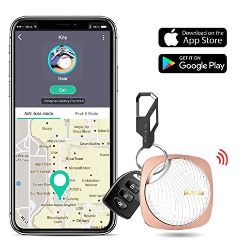 DinoFire Key Finder Smart Tracker, Lost Keys Finder Phone Finder with App Key Tracker with Bluetooth Item Finder