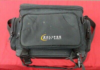 Eclipse Solar Gear, The Nova Solar Camera/Camcorder Bag Black with Solar Panel