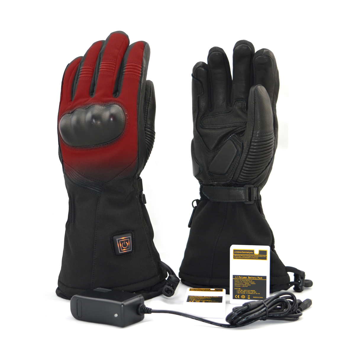 Electric Heated Gloves Heating Mittens Rechargeable ...