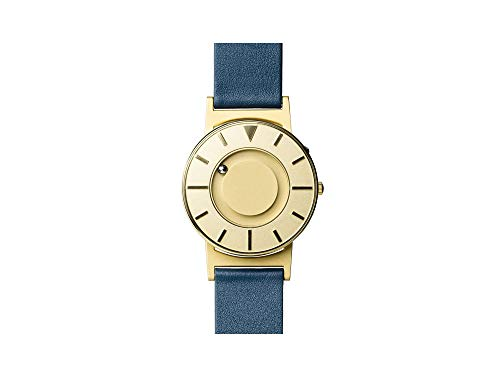 Eone Bradley Lux Gold Watch Blue Leather Band