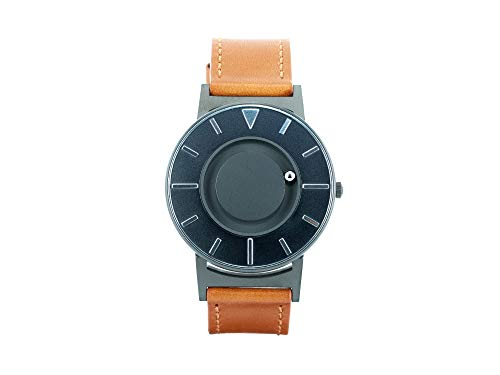 Eone Bradley Voyager Cobalt Watch Cognac Leather Band
