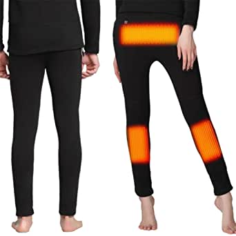 FERNIDA Insulated Heating Underwear Washable USB Electric ...
