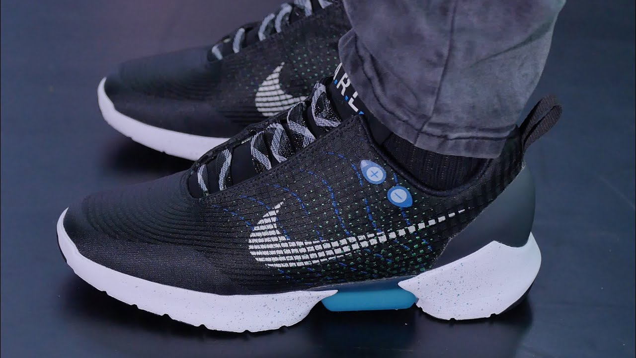 First Look: Nike's POWER-LACING Shoe - Nike HyperAdapt 1.0 ...
