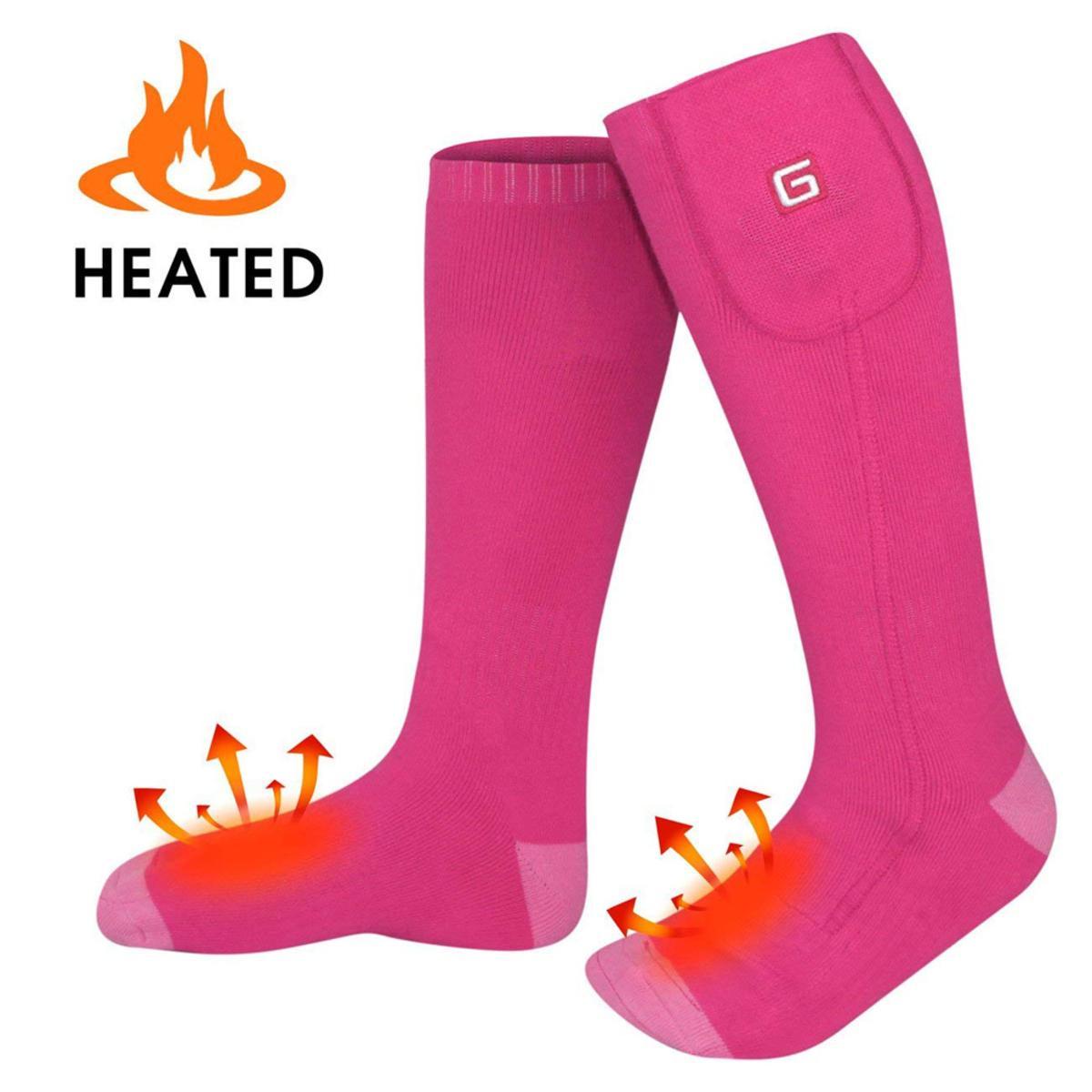 Global Vasion 3.7V Electric Warm Heated Socks for ...