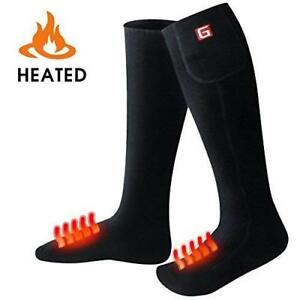 GLOBAL VASION Electric Heated Socks with Rechargeable ...