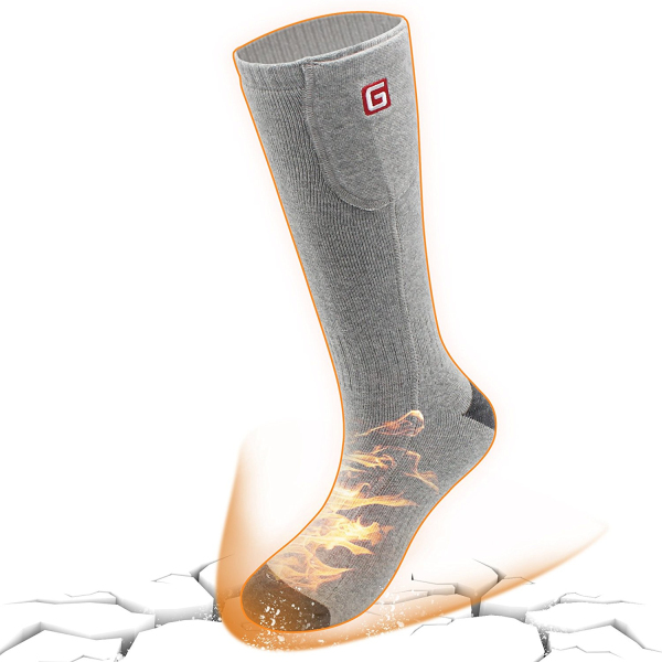 GLOBAL VASION Electric Warm Heated Socks for Chronically ...