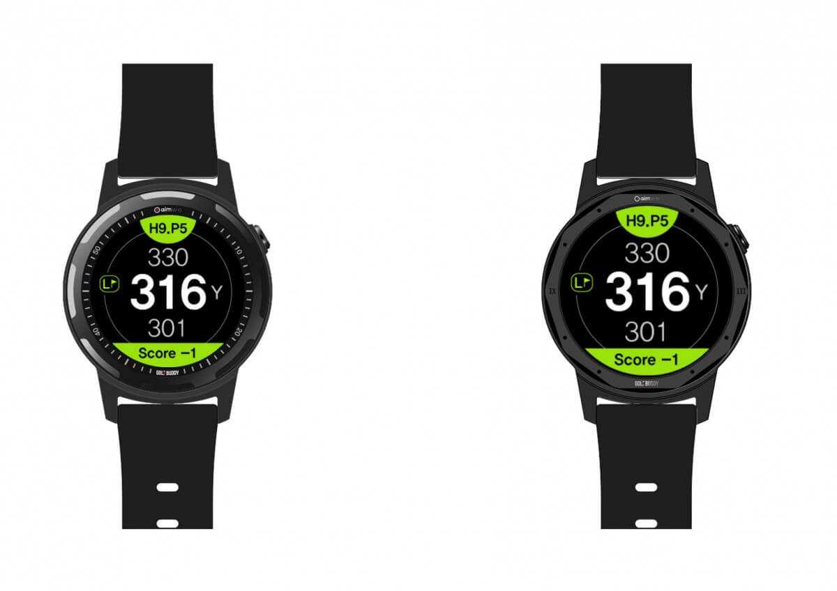 Golf Buddy AIM W10 Smart Golf GPS Watch | Golf Swing Systems