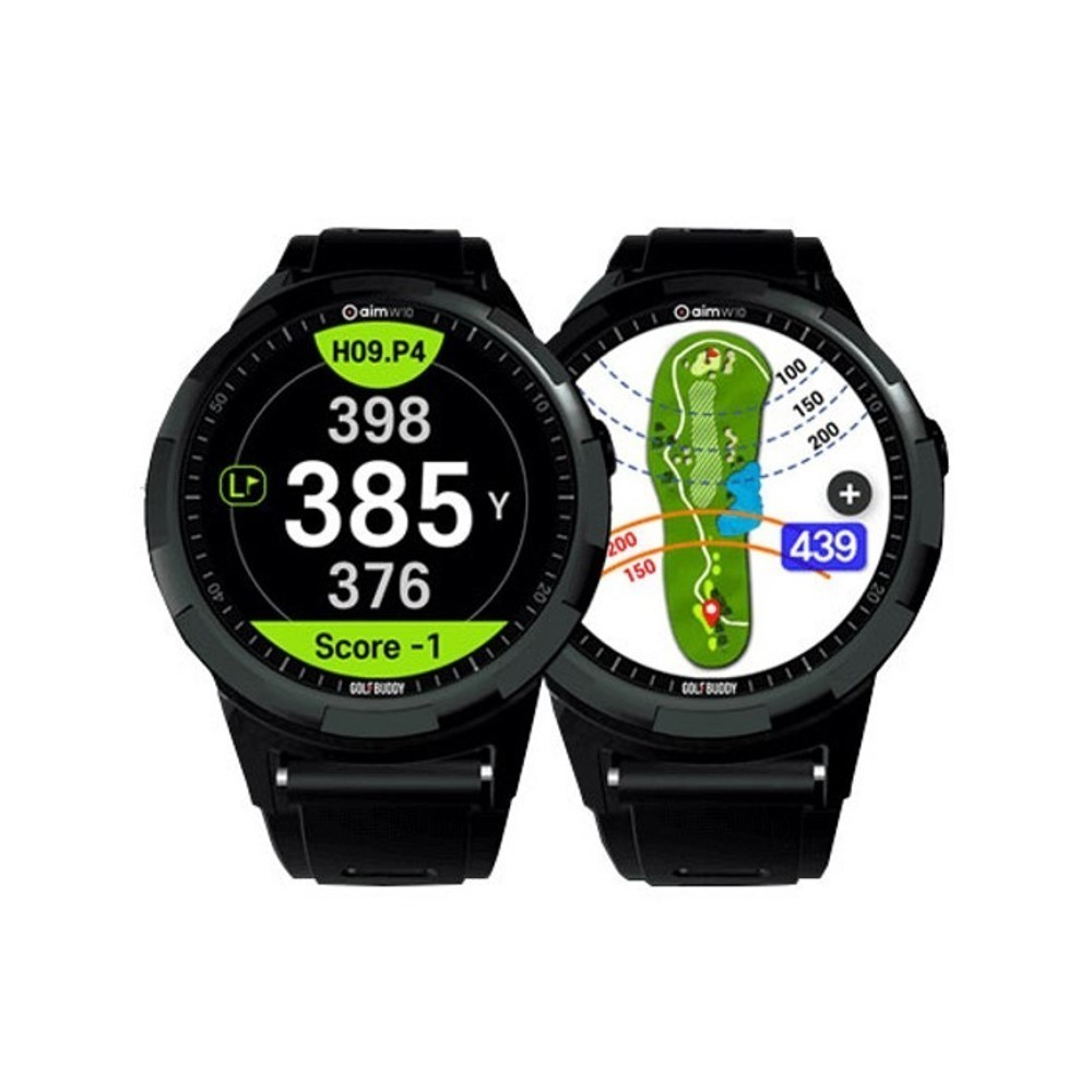 GolfBuddy aim W10 Golf GPS Watch - O'Dwyers Golf Store