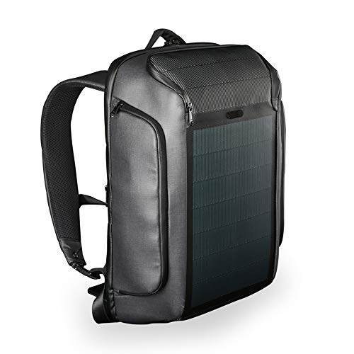 Hanergy Alternative - Kingsons Beam Backpack - The Most Advanced Solar Power Backpack - Waterproof, Anti-Theft Laptop Bag