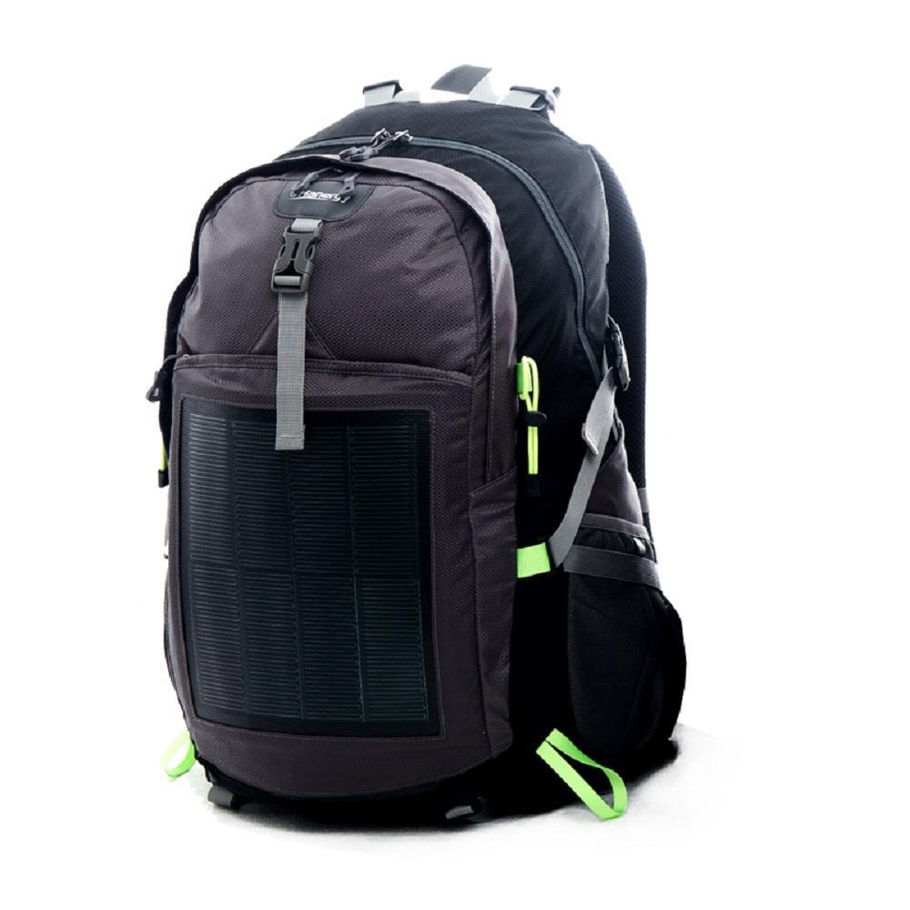 Hanergy HNS-FS 10.6-Watt Grey Solar Backpack-MB-10-M - The Home Depot
