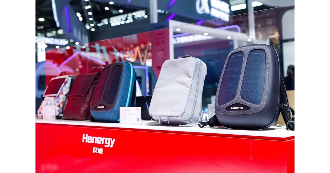 Hanergy Launches Next-Generation Thin-Film Solar Charging Pack and Thin-Film Solar Backpack
