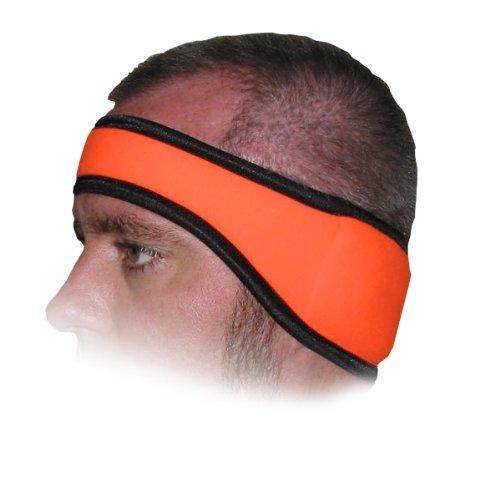 Heat Factory Fleece Ear Headband- Blaze Orange