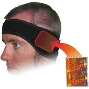 Heat Factory Fleece Ear Headband with Hand Heat Warmer ...