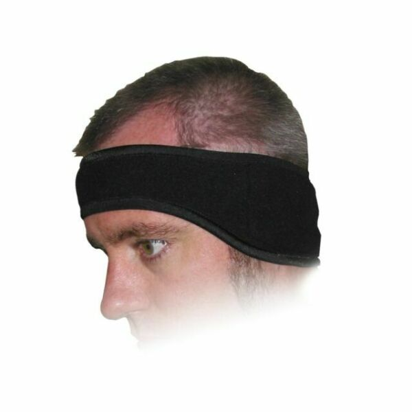 Heat Factory Fleece Ear Headband With Hand Warmer Pockets ...