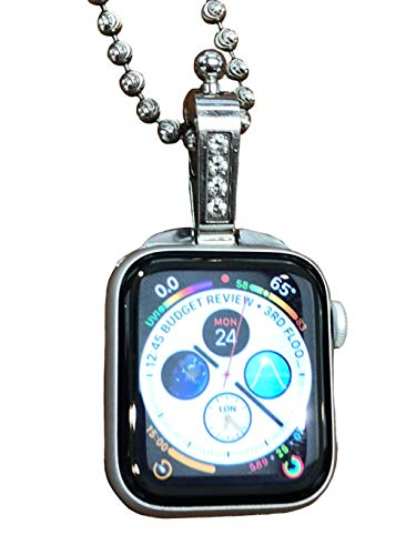 iClasp Apple Watch Jewelry Necklace Adapter Pendant,Introducing (The Polished Stainless Steel ...