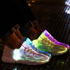 Idea Frames Fiber Optic LED Light Up Shoes for Women Men ...