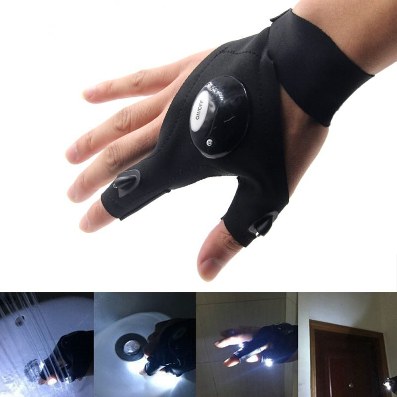 LED Light Gloves Makes Your Work In The Darkness Easier ...