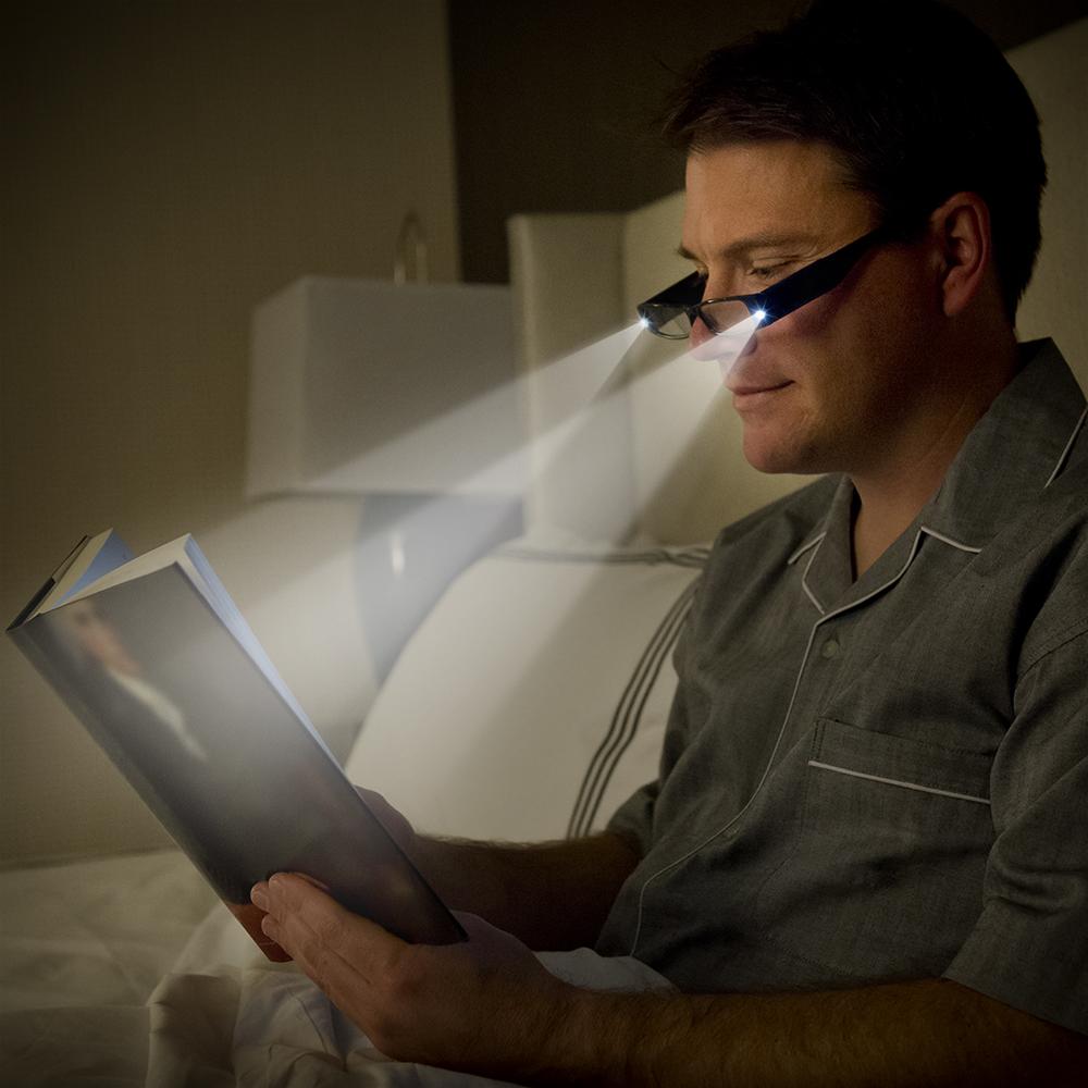 LED Reading Glasses Lightweight - LightSpecs - Panther Vision