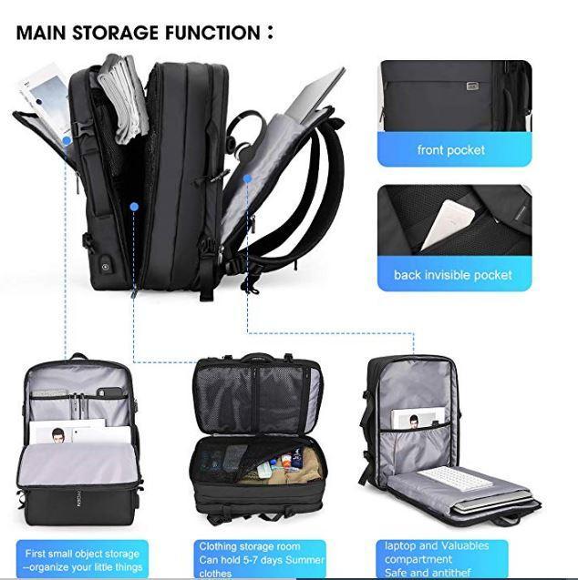 Mark Ryden Carry-on Travel Backpack fits 17.3 Laptop - ShipSB