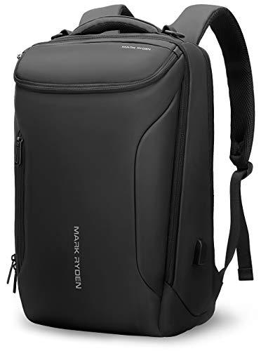 Markryden Water-proof Business laptop Backpack for School Travel Work Fits 17.3 Laptop (YKK-3 Pocket)