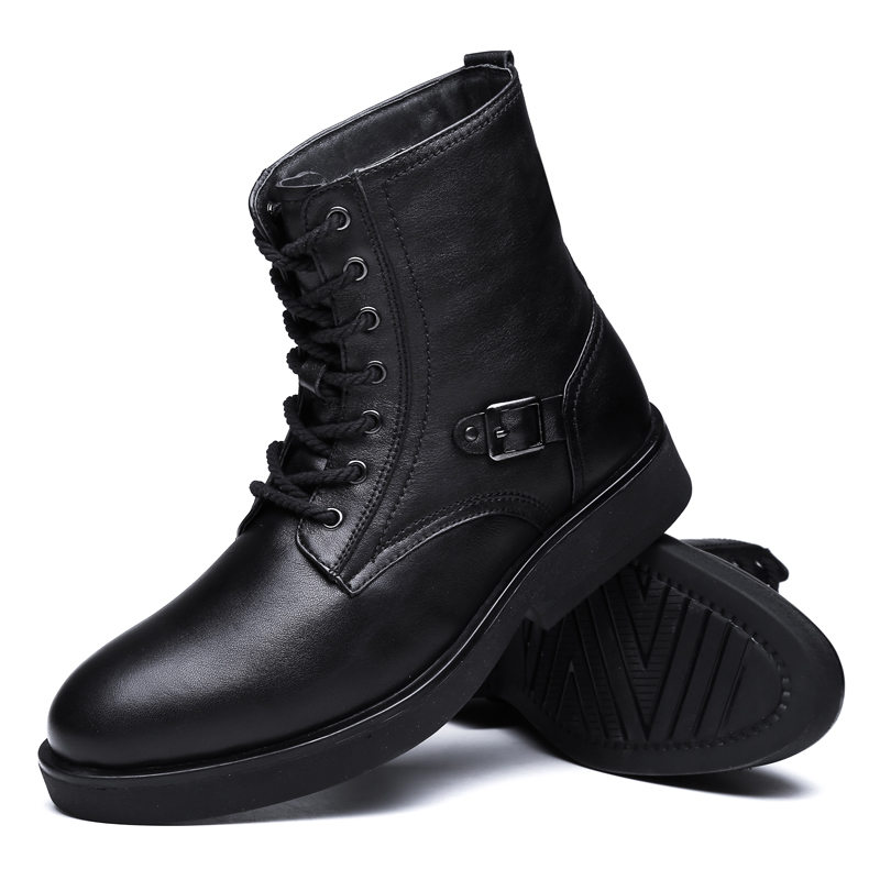 Men's Ankle Boots, Electric Rechargeable Heated Shoes for ...