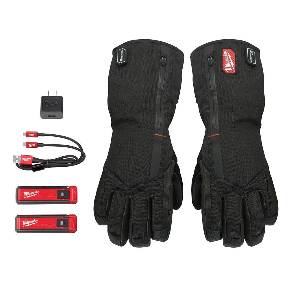 Milwaukee Large Heated Gloves with Battery and Charger-561 ...