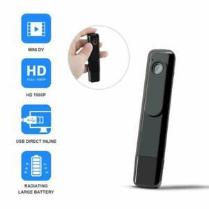 Mini Body Camera Dzftech Spy Cam 1080P Wireless Hidden ...