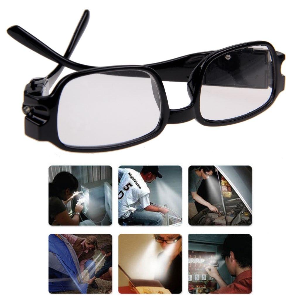 Multi Strength Men Women Reading Glasses With Dual Led ...