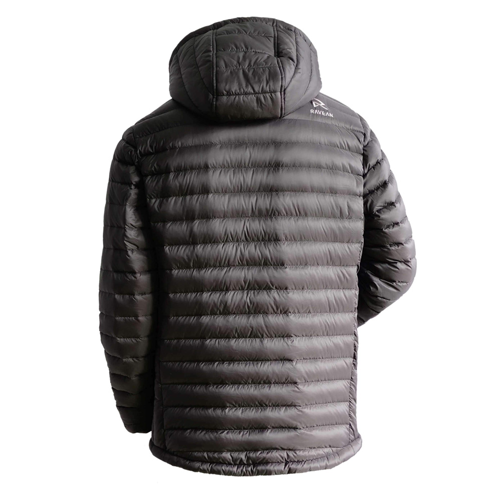 Ravean Men's Down Heated Jacket with 12V Battery Kit - My ...