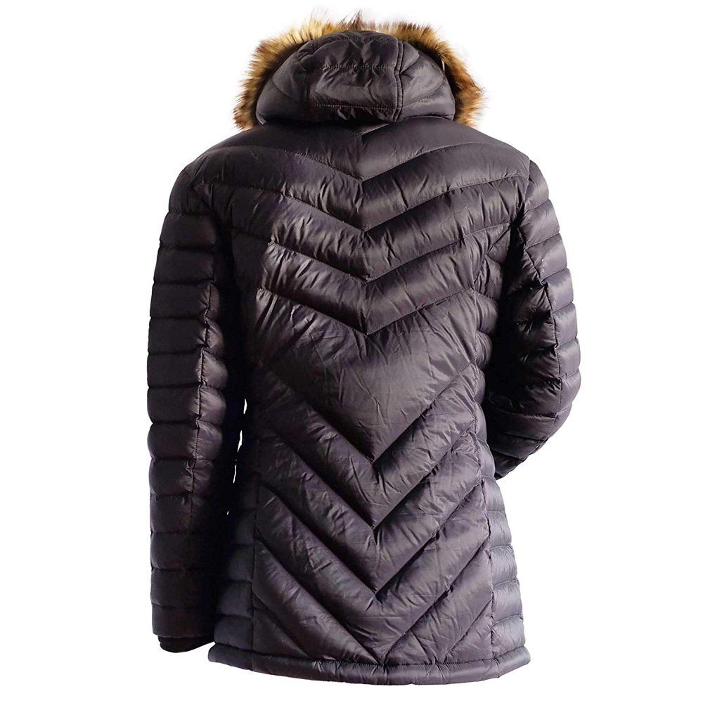 Ravean Women's Down Heated Jacket with 12V Battery Kit ...