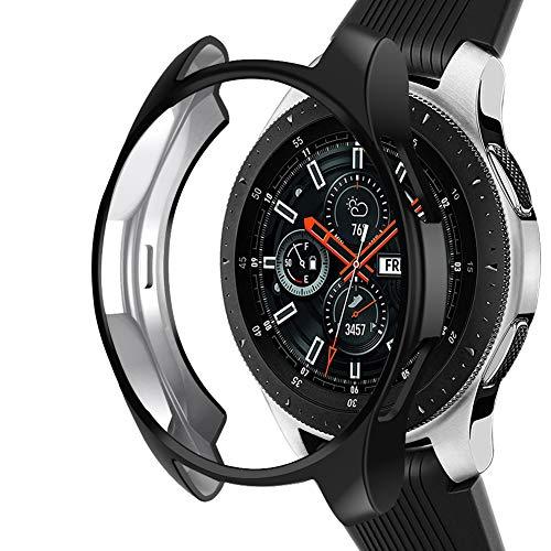 Samsung Galaxy Watch NaHai TPU Slim Plated Case - Black