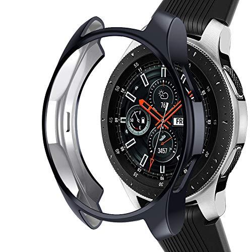 Samsung Galaxy Watch NaHai TPU Slim Plated Case - Gray