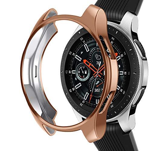 Samsung Galaxy Watch NaHai TPU Slim Plated Case - Rose Gold