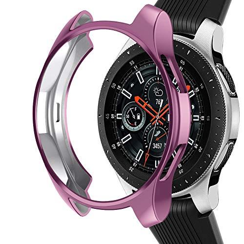 Samsung Galaxy Watch NaHai TPU Slim Plated Case - Rose Pink