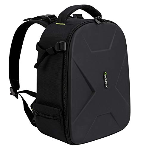 Similar to Evecase - Endurax Camera Backpack Waterproof for DSLR SLR Photographer Camera Bag for Mirrorless Camera with Hardshell Protection Small