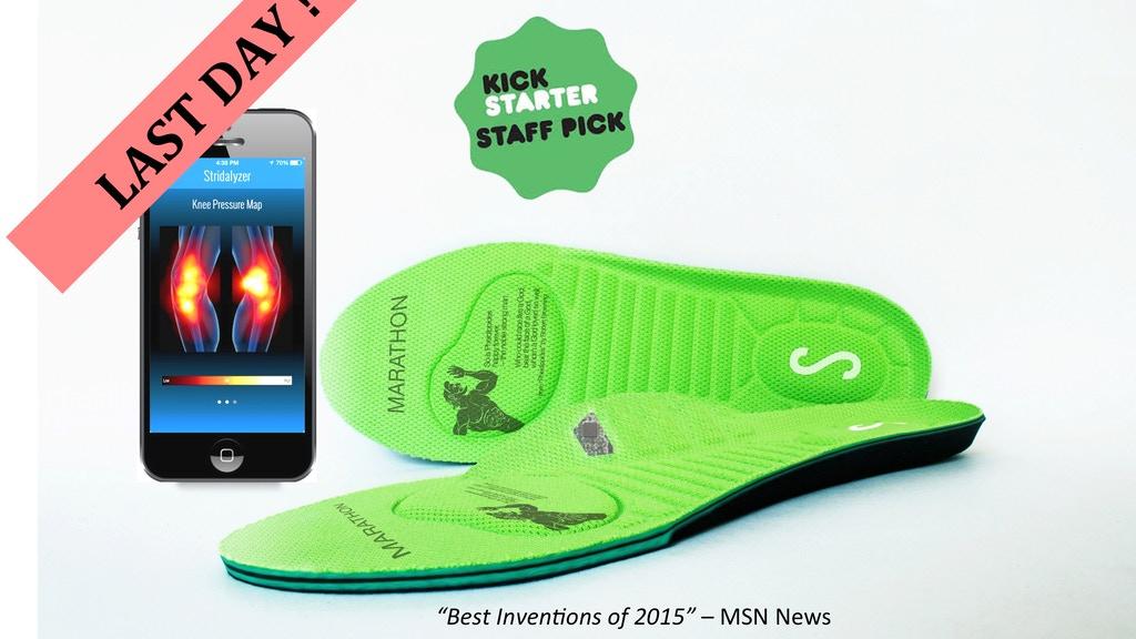 Stridalyzer Smart Insoles by ReTiSense — Kickstarter