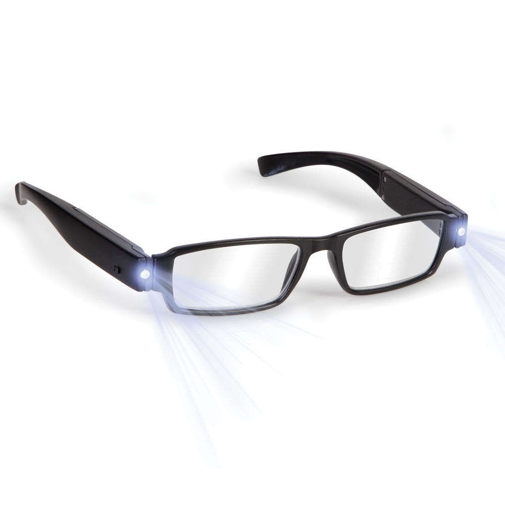 The Rechargeable LED Reading Glasses - Hammacher Schlemmer