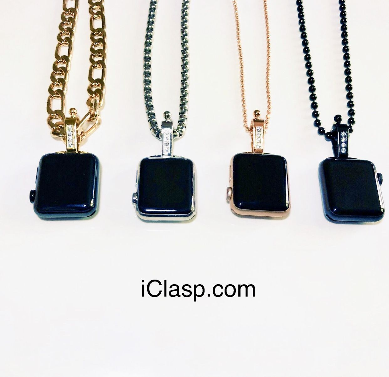 These are the 4 Colors. Gold,Stainless,RoseGold,and Black. There Polished and the CZ Stones are ...
