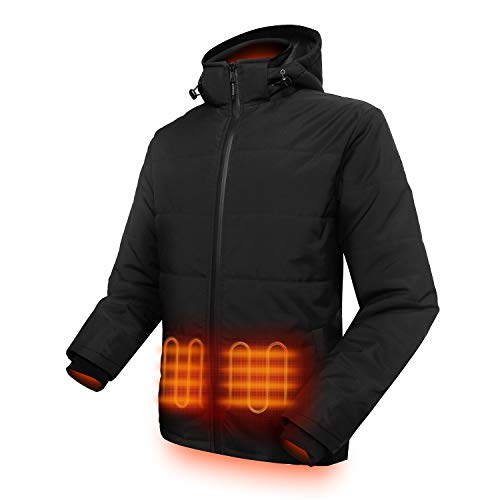 Top 10 Mens Heated Jackets of 2019 - Best Reviews Guide