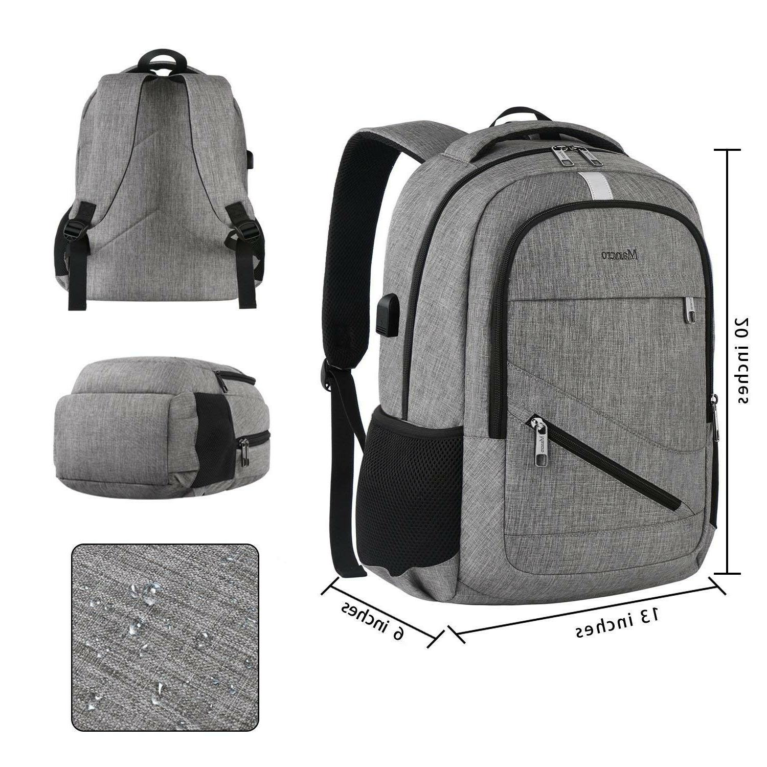 Travel Laptop Backpack, Mancro Anti Theft Durable College