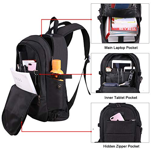 Tzowla Anti-Theft Travel Laptop Backpack Deals, Coupons ...