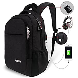 Tzowla Travel Laptop Backpack,Business Anti ...