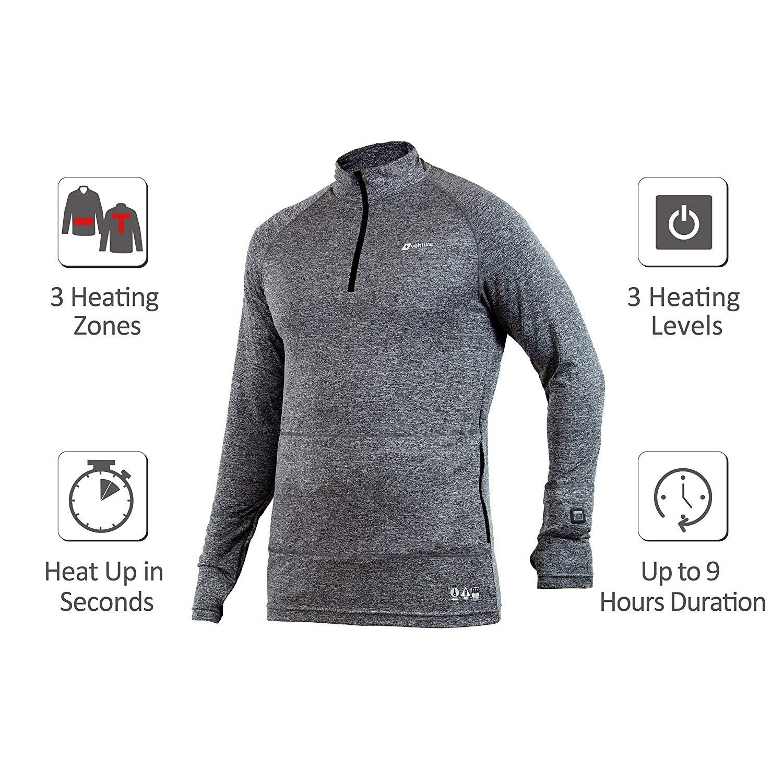 Venture Heat Men's Heated Shirt