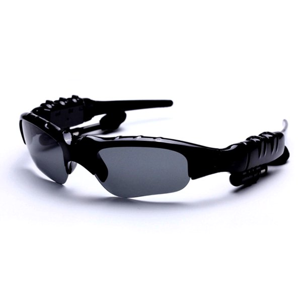 Yesbay Sunglasses Bluetooth Earphone Outdoor Sport Glasses Wireless Headset with Mic
