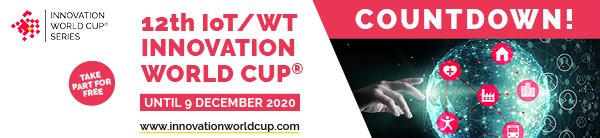 12th IOT/WT INNOVATION WORLD® CUP: THE COUNTDOWN HAS STARTED! 14
