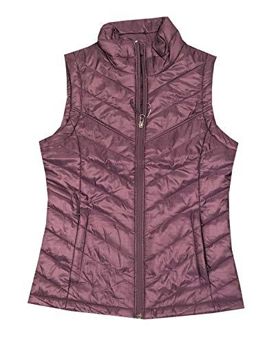 Columbia Women Morning Light III Omni-Heat Vest (XS, Plum)